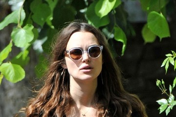 Keira Knightley Keira Knightley Strolls with Her Baby Just Four Weeks After Giving Birth