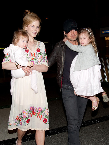 Keith Urban Pictures - Nicole Kidman and Family at the ...