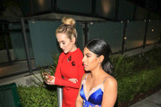 Kelley Jakle and Chrissie Fit are seen in Los Angeles, California.