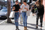 Kendall Jenner and Gigi Hadid Get Greek Yogurt