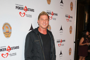 Kenny Johnson Heroes for Heroes: Los Angeles Police Memorial Foundation Celebrity Poker Tournament