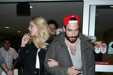 Kesha Kesha and Brad Ashenfelter at LAX
