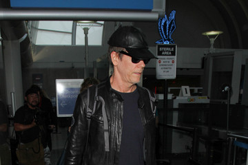 Kevin Bacon Kevin Bacon and Kyra Sedgwick Are Seen at LAX