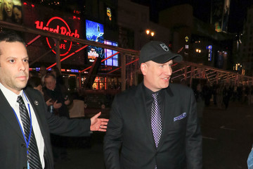 Kevin Feige Kevin Feige Outside Black Panther Premiere at Dolby Theatre