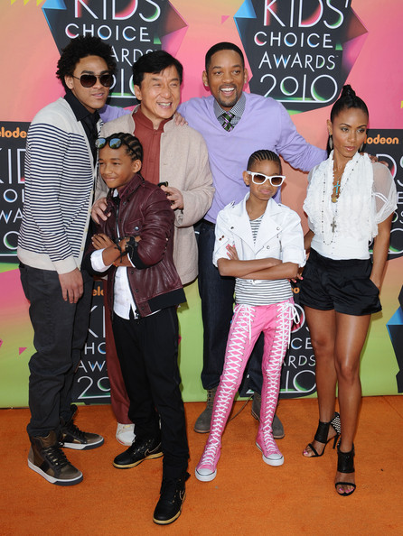 will smith kids pictures. will smith kids choice awards.