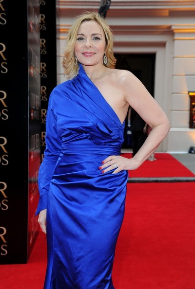 Kim Cattrall Photos - Arrivals at the Olivier Theatre ... Kim Cattrall Dated