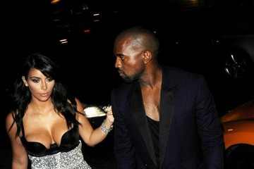 Kim Kardashian Kim and Kanye's Date Night