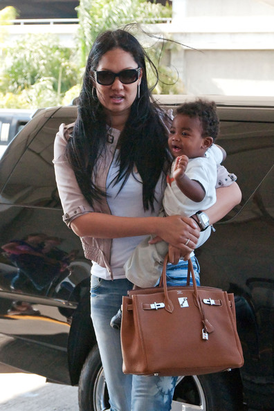 kimora lee simmons son kenzo lee. Kimora Lee Simmons and son