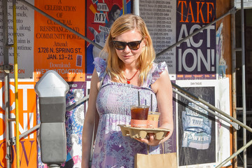 Kirsten Dunst Kirsten Dunst Goes Out With a Friend