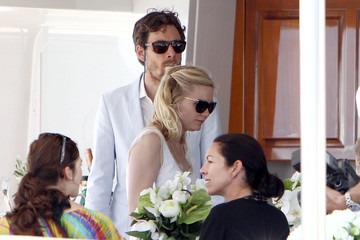 Jason Boesel Kirsten Dunst and Jason Boesel in Cannes
