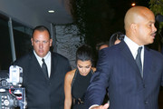 Kourtney Kardashian at Craig's Restaurant