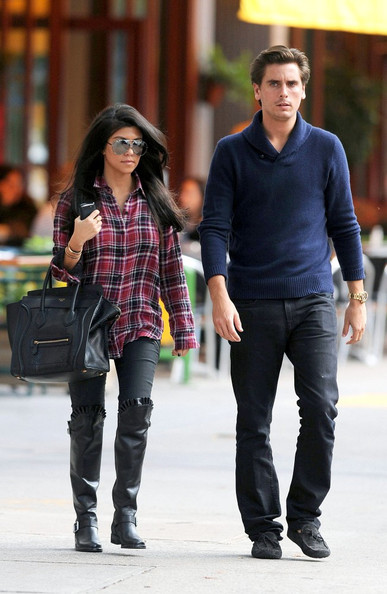 Kourtney Kardashian in Kourtney Kardashian and Scott ...