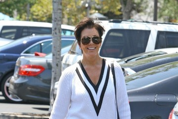 Kris Jenner Kris Jenner Hits the Mall