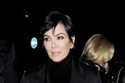 Kris Jenner Enjoys a Night Out