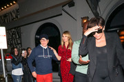 Kris Jenner, Corey Gamble, Tommy Hilfiger, and Dee Ocleppo are seen in Los Angeles, California on November 3, 2018.