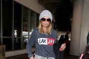 Kristin Chenoweth Arrives at LAX