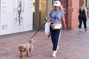 Kristin Chenoweth is seen in Los Angeles, California.
