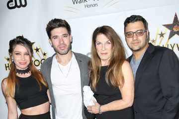 Kristos Andrews Celebrities Attends the Hollywood Walk of Fame Honors at Taglyan Complex