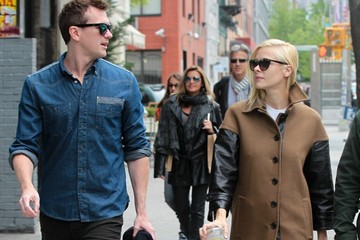 Kyle Newman Jaime King and Kyle Newman Walk Around the East Village
