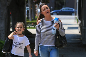 Kyle Richards Portia Umansky Kyle Richards and Her Daughter Portia Umansky Go Shopping