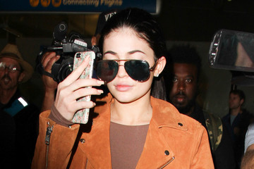 Kylie Jenner Kylie Jenner Is Seen at LAX