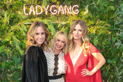 Keltie Knight, Becca Tobin and Jac Vanek are seen attending The LadyGang Podcast at Wanderlust in Los Angeles, California.