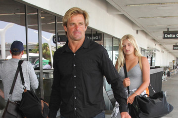 Laird Hamilton Laird Hamilton Arrives at LAX