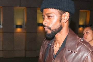 Lakeith Stanfield Lakeith Stanfield Outside The ArcLight Cinemas In Hollywood