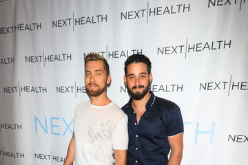 Lance Bass Grand Opening of Next | Health Westfield Century City