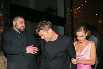 Lara Bingle Sam Worthington and Lara Bingle Are Seen Outside Avenue Nightclub in Hollywood