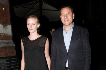 Lara Stone David Walliams and His Wife Leave Chiltern