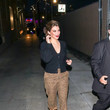 Lauren Cohan Lauren Cohan At 'Jimmy Kimmel Live'