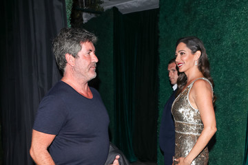 Lauren Silverman Simon Cowell And Lauren Silverman In Los Angeles