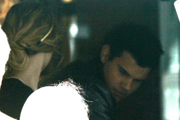 Taylor Swift Taylor Lautner Taylor Lautner in Chicago with Taylor Swift