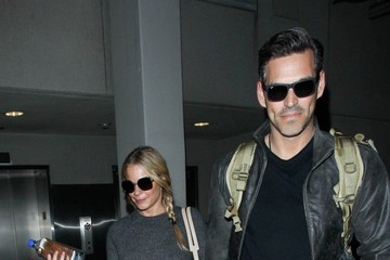 LeAnn Rimes LeAnn Rimes and Eddie Cibrian at LAX