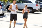 Lea Michele and Matthew Paetz Go Hiking