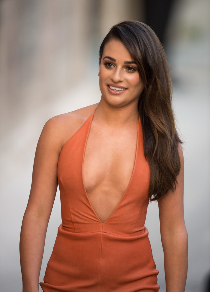 Lea michele photos photos lea michele at 39 jimmy kimmel - Michelle diva futura channel ...