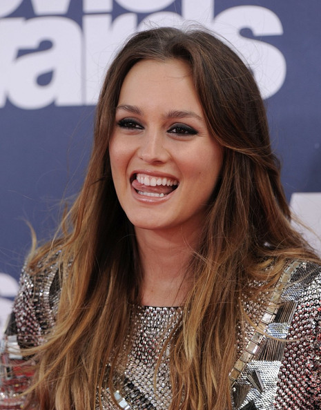 leighton meester pictures 2011 mtv movie awards zimbio
