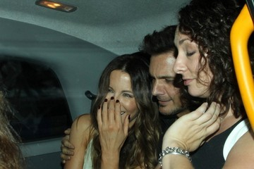 Len Wiseman Kate Beckinsale Enjoys a Night Out