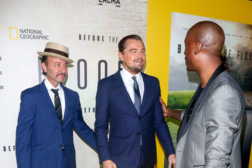 Leonardo DiCaprio Leonardo DiCaprio Attends a Screening of National Geographic Channel's 'Before The Flood'