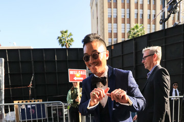 Leonardo Nam Leonardo Nam Outside 'Solo: A Star Wars Story'  Premiere at Dolby Theatre