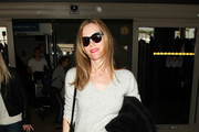 Leslie Mann is Seen at LAX