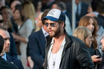 Liam Hemsworth 'Avengers: Age of Ultron' Cast Street Candids