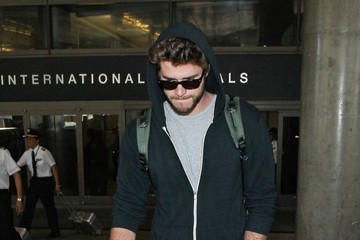 Liam Hemsworth Liam Hemsworth at LAX
