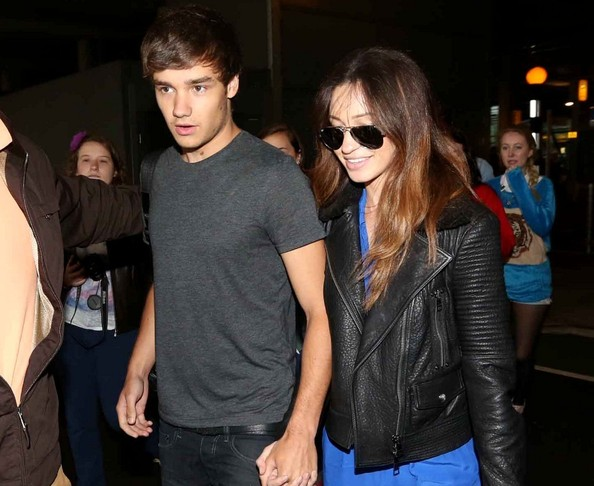 Liam Payne and Danielle Peazer - Liam Payne at the Airport
