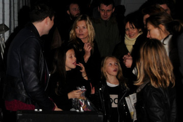 Lila Grace Moss Kate Moss at the Primrose Hill Christmas Fair