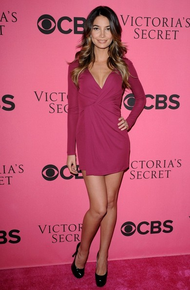 Lily Aldridge 2011 Victoria's Secret Fashion Show Viewing Party.Samueli Theatre, Segerstrom Center for the Arts, Costa Mesa, CA.November 29, 2011.