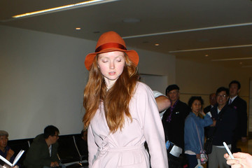 Lily Cole Lily Cole is Seen at LAX