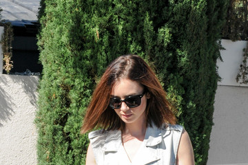 Lily Collins Lily Collins in Los Angeles 2