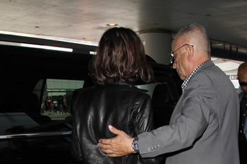 Lily Collins Lily Collins is seen at LAX